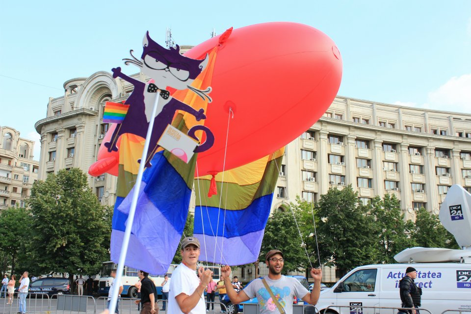 motanov at gay parade