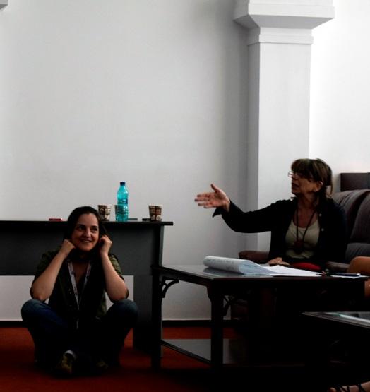 Leadership Summer Academy nestworking la lucru cu Alina