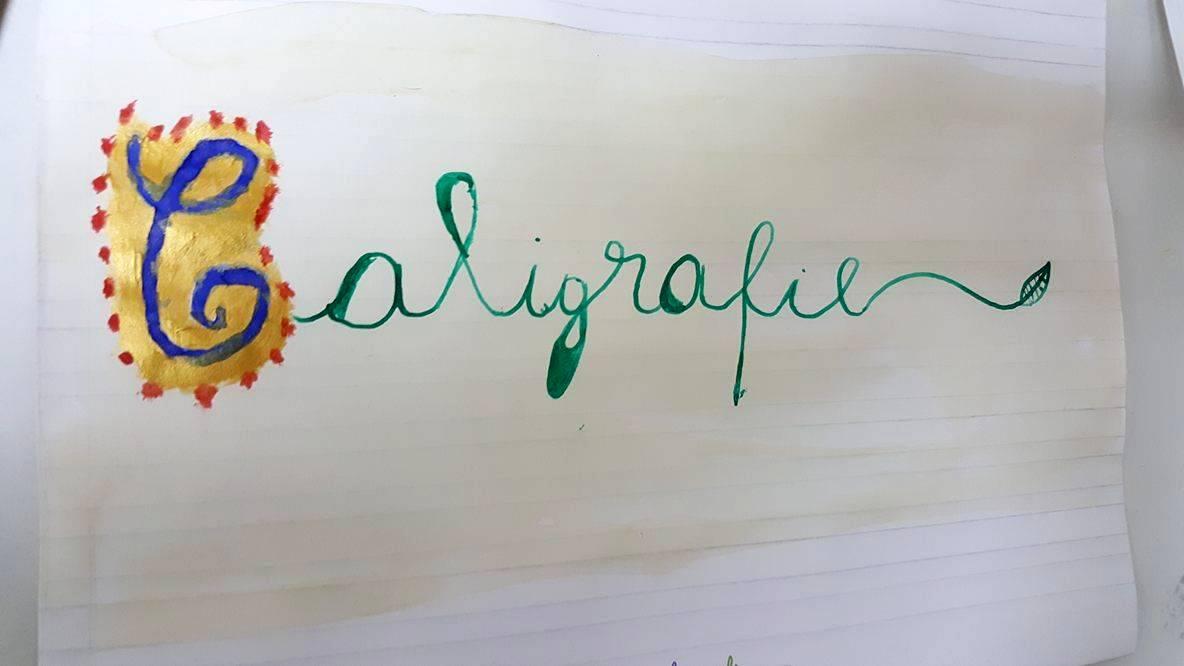 caligrafie copii