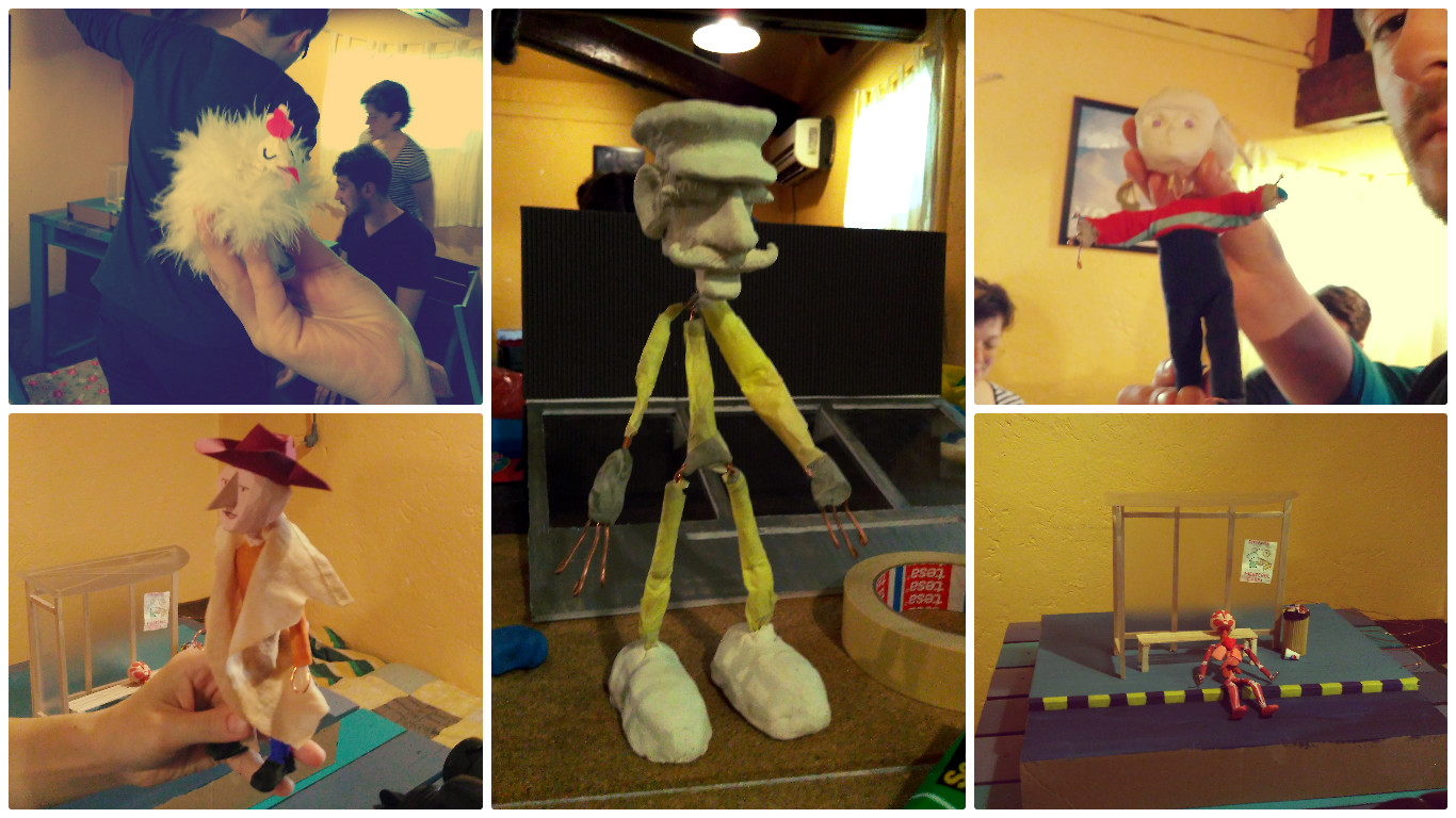 stop motion workshop