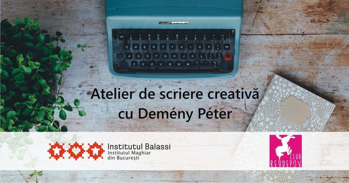 workshop scriere creativa club revdepov institutul maghiar